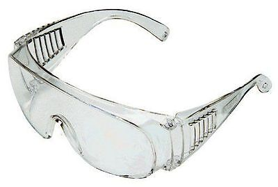 Msa Safety Works 817691   Economical Clear Safety Glasses