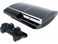 PS3 80GB Console + Uncharted 3