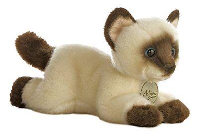 "Aurora World Miyoni Siamese Cat Plush, 8"""