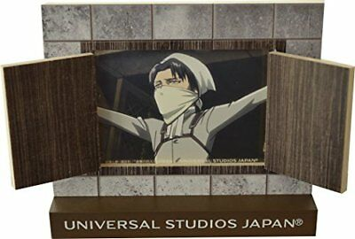 Attack on Titan Cleaning Levi photo frame USJ Universal Studios JAPAN