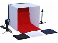 PHOTOSTUDIO Light Tent - with light and tripod