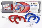 Pitching Horseshoes Set