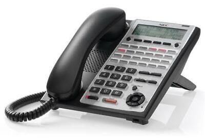 Nec Sl1100 24-button Backlit Display Digital Phone 1100063 Ip4ww-24txh-b-tel New