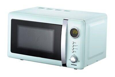 Classico Mikrowelle Retro Design Melissa 16330110 blau 20 Liter Mikrowellenherd (Mikrowelle Blau)