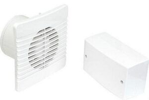 Low Voltage 12V Extractor Fan with Timer & Transformer - OK for Bathroom Zone 1