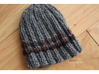 KNIT HATS FOR THE HOMELESS AND DONATE THEM TO THE HATS FOR THE HOMELESS PROJECT ON/BEFORE 18.12.2017