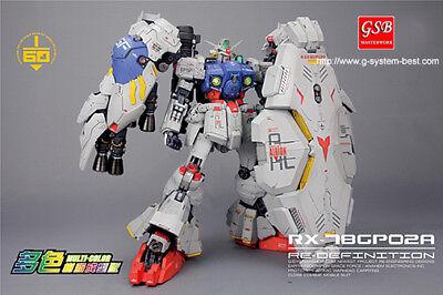 G system best 1/60 RX-78 Gundam GP02A, resin model