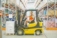 Forklift JOBS Toronto - Earn $14-$18/hr + Approved Training