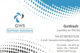 GoWash Solutions - Tired of doing laundry??