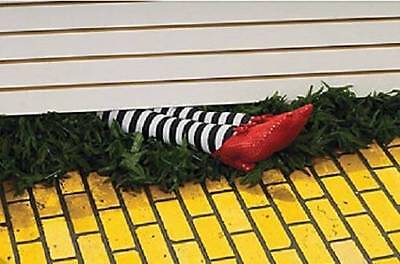 Wicked Witch Legs (Wickedly Wicked Witch Of The East Legs in Red Slippers Halloween Prop)