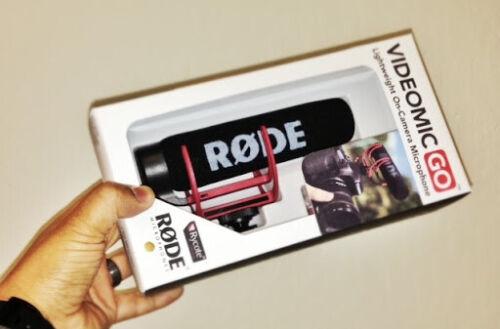 Rode VideoMic GO Professional Microphone
