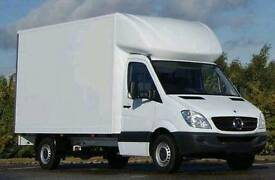 Man and van removals service house office flat Ikea delivery London and nationwide Luton van