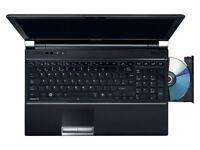 Toshiba laptop, 15.6inch, i3-2310M, 4GB DDR3 RAM, 320 GB HDD, eSATA, USB3.0, Win 10 Pro 64Bit
