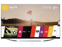 """LG 47"""" 3D TV HD SMART TV MINT CONDITION 47LB730V pick up LEEDS 16"""