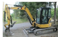 caterpillar 304c mini excavator for hire