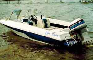 16' Motorboat  w/115 Evinrude + trailer