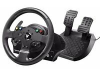 Thruatmaster steering wheel with pedals and shifter