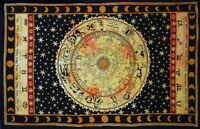Zodiac Indian Cotton Tapestry Wall Hanging Decor
