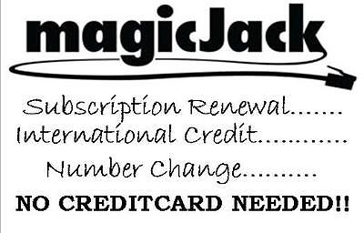 MAGICJACK SUBSCRIPTION RENEWAL 1YEAR (BY EMAIL OR REMOTE ASSISTANCE)