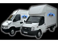 NATIONWIDE CHEAP VAN & MAN HOUSE MOVER OFFICE REMOVAL LUTON HIRE WITH 2/3 MEN PIANO SHIFTING MOVING