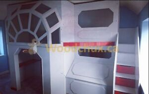 ♥‿♥ .. TIE Series STAR FIGHTER Loft Bed & Play house .. ♥‿♥