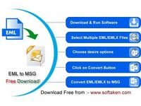 eml to msg software