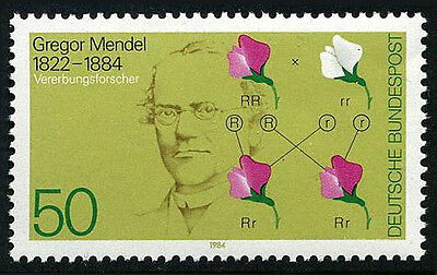 Germany 1411, MNH. Gregor Mendel, Basic Laws of Heredity, 1984