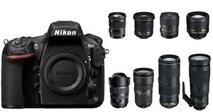 LOTS of used NIKON digital SLR gear for SALE or TRADE, WILL SHIP