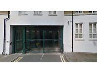 Secure parking space - Spitalfields Market