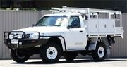 2011 Nissan Patrol MY11 Upgrade DX (4x4) White 5 Speed Manual Leaf Cab Chassis Lismore Lismore Area Preview