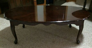 COFFEE TABLE & SIDE TABLE - matching set $75