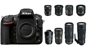 Lots of used NIKON digital SLR gear for sale or trade