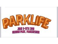 Parklife vip weekend tickets