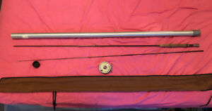 Fly fishing rod. reel is sold