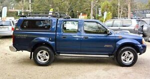 2010 Nissan Navara D22 MY2010 ST-R Blue 5 Speed Manual 4D UTILITY Upper Ferntree Gully Knox Area Preview