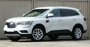 2017 Renault Koleos XZG MY17 Update Zen X-Tronic (4x2) Crystal White Continuous Variable Wagon Lismore Lismore Area Preview