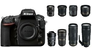 LOTS of used NIKON digital SLR gear for SALE or TRADE WILL SHIP