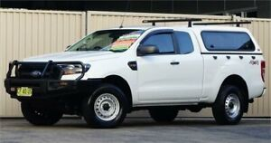 2015 Ford Ranger PX MkII XL 3.2 (4x4) White 6 Speed Manual Super Cab Utility Lismore Lismore Area Preview