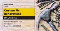 Weekend/After hrs Handyman/reno