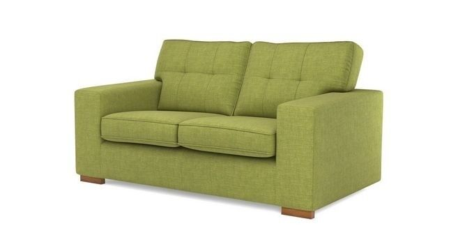 Dfs Lime Green Two Seater Sofa Excellent Condition Hardly Used In