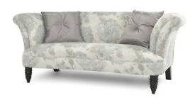 NEW SOFA UNUSED FROM VERY CLEAN SMOKE FREE HOME ( STOOL ALSO AVAILABLE SEPARATE)