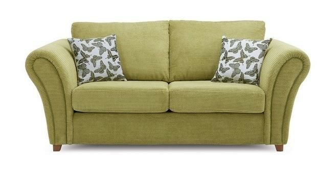 Dfs Sofa Set Bed And 2 Armchairs Flutter Range Green Almost