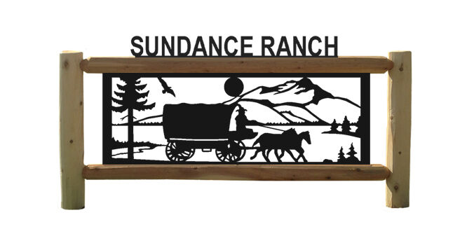 PERSONALIZED EQUESTRIAN SIGNS - HORSE - HORSES - STAGECOACHES - FARM AND RANCH