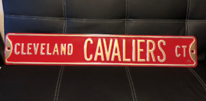 NBA Basketball Cleveland Cavaliers Ct Metal Street Sign