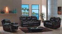 AMAZING DEAL - Recliner Sofa *Sectional Sofa* Leather Sofa Set