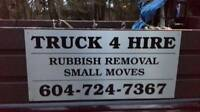 RUBBISH /DOWNSIZING /METAL UP 604-724-7367 VAN BBY NWEST RICH
