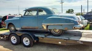 1949 OLDSMOBILE 2 DOOR BUSINESS COUPE RARE PROJECT