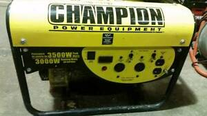 Generator CHAMPION Portable 3000w/ 3500w $325 & other TOOLS