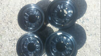 set of 4 polaris take off 12 inch rims..   like new $120