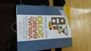 Visual Basic 2010 w/ CD 8th Ed. - $20